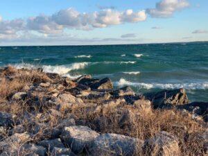 Grand Traverse Bay of Lake Michigan. Photo by Laura Asiala
