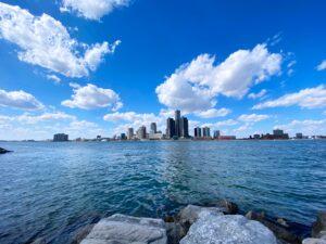 Detroit Skyline by Rikin Katyal via Unsplash
